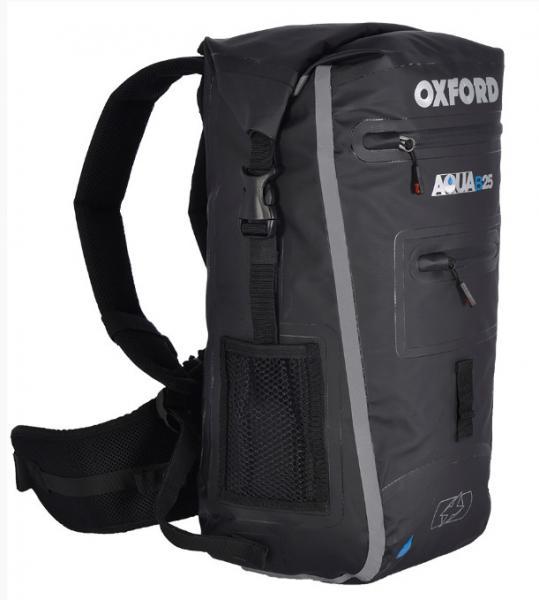 Moto batoh OXFORD Aqua B-25 voděodolný (černý) 25 litrů - Brašny na ... 40498040ef