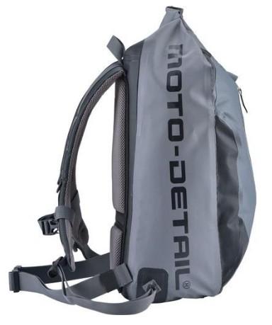 Moto batoh Moto Detail Drypack II voděodolný (šedý) 26 litrů ... 273bb5bf56