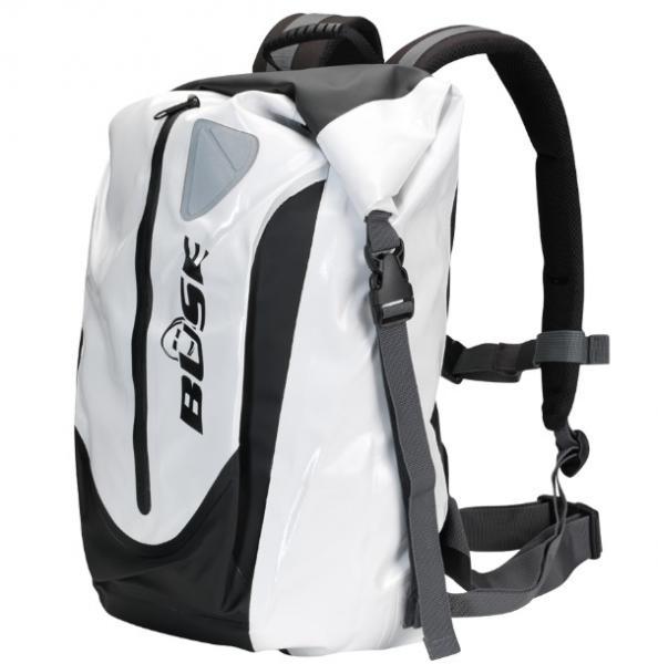 Moto batoh Büse voděodolný (bílý černý) 30 litrů - Brašny na motorku ... 0f4021de2b