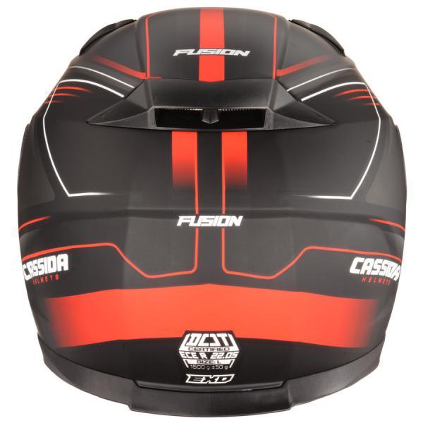 d881f8fb569 Moto přilba CASSIDA Apex Fusion (černá červená fluo) - Moto přilby ...