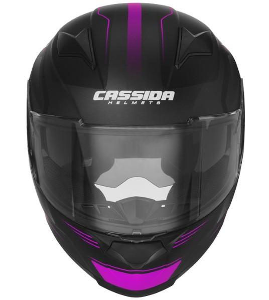Moto přilba CASSIDA Apex Fusion (černá matná růžová) - Moto přilby ... 9047b71a885
