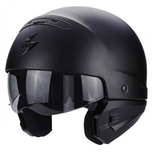 Moto přilba SCORPION EXO-COMBAT Solid (černá matná) - Moto přilby ... 89cefdd95a