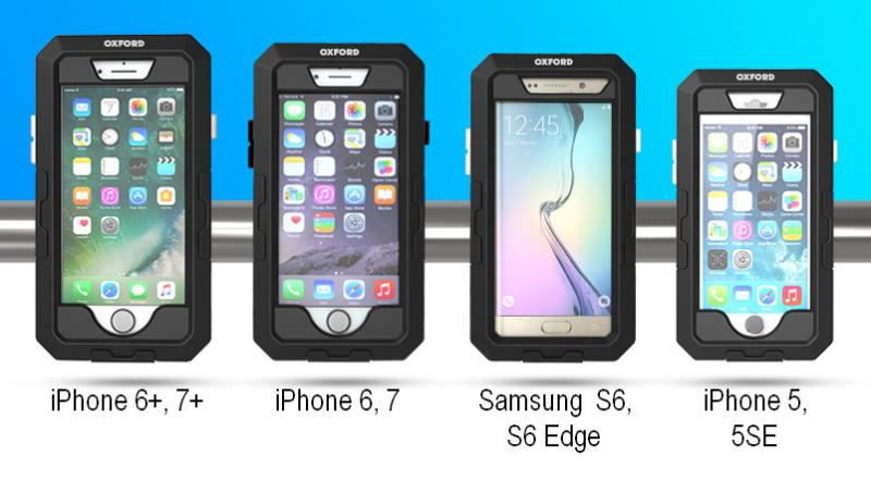 Voděodolný kryt na telefon OXFORD Axua Dry Phone Pro (iPhone 6+   7 ... d1c9e54d464