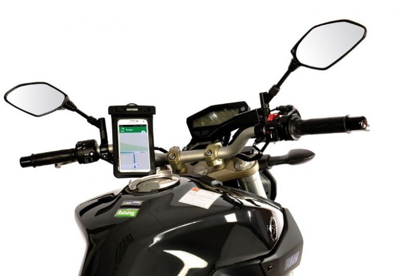 Voděodolný kryt na telefon OXFORD Aqua Dry Phone - Brašny na motorku ... 46fa73d88e4