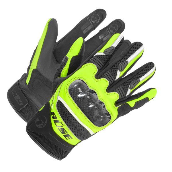 17e73834607 Moto rukavice Büse Safe Ride (černá žlutá fluo) - Rukavice na ...