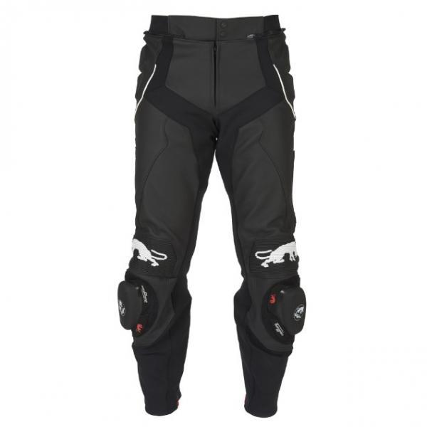 20d01f39a40 Moto kalhoty Furygan Raptor (černá bílá) - Moto oblečení kožené ...