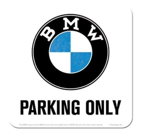 "Podtácek BMW ""Parking Only"""