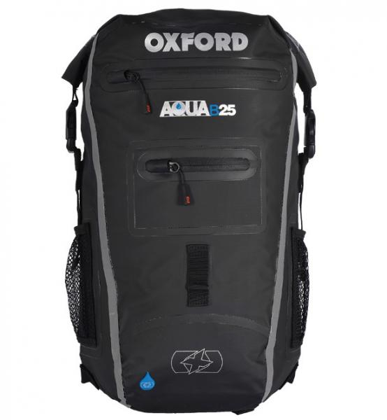 30817156d7e Moto batoh OXFORD Aqua B-25 voděodolný (černý) 25 litrů