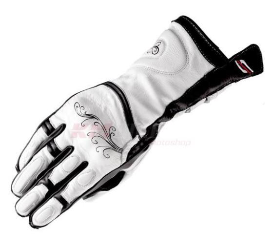 132fafe5f9c Moto rukavice SHIMA MODENA bílé dámské