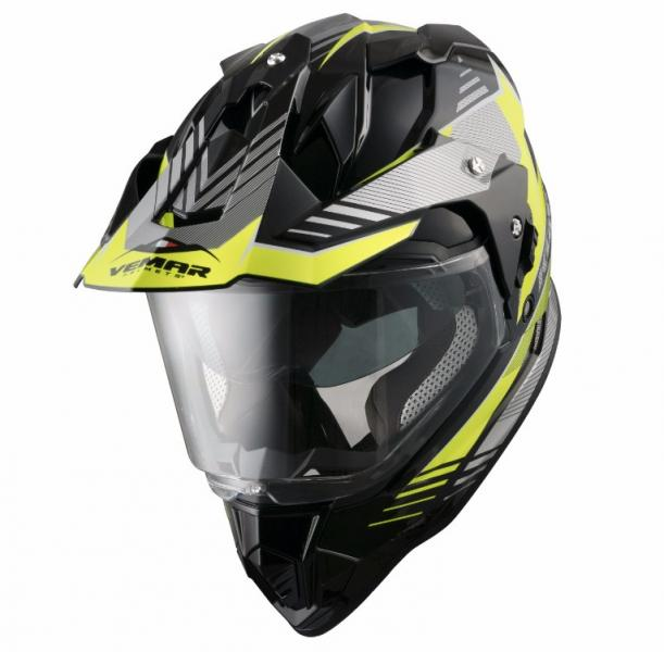 Moto pøilba ASTONE CROSS TOURER ADVENTURE èerná matná MBK
