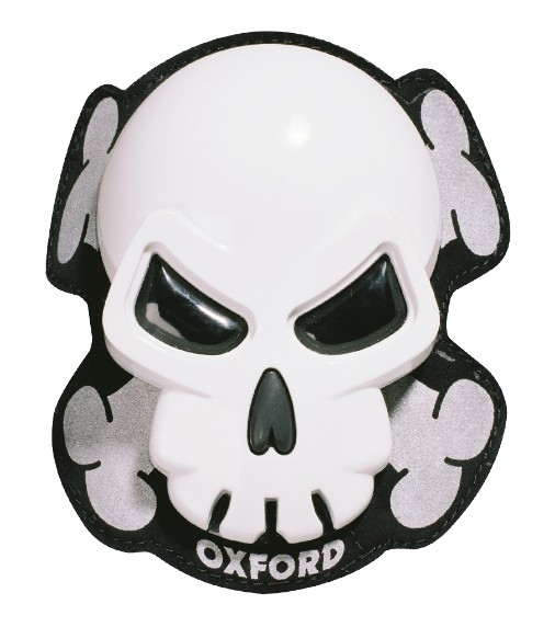 Slidery Oxford Skull bílý