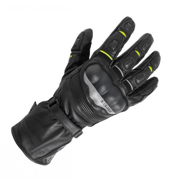 8d433d91f46 Moto rukavice Büse ST Impact voděodolné (černá žlutá fluo)