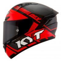 Moto přilba KYT NX Race - D carbon (černá červená fluo) 407f81d4db