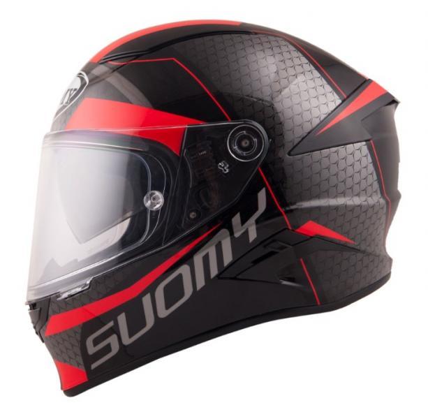 Moto přilba SUOMY SPEEDSTAR Rap (černá červená) 0a22be8a3b
