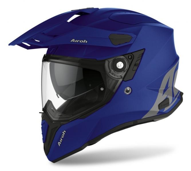 Moto helma AIROH COMMANDER Color (modrá)