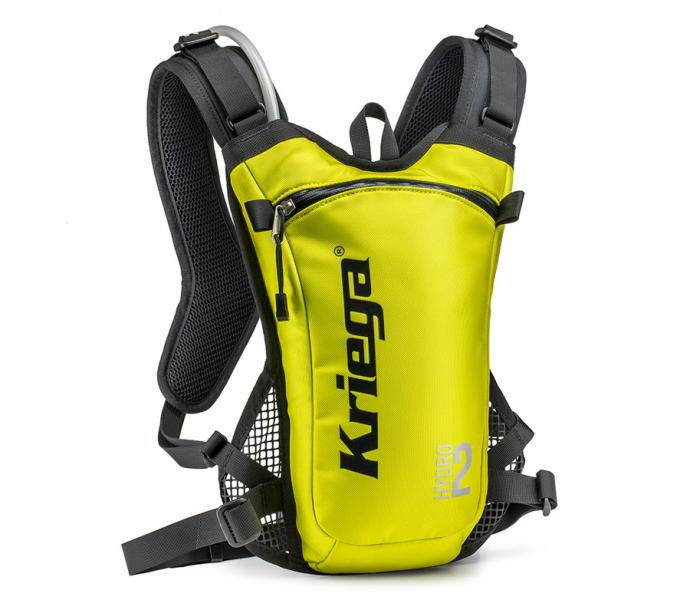Kriega Hydro-2 lime backpack
